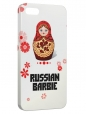 Чехол для iPhone 5/5S, Russian Barbi