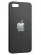 Чехол для iPhone 5/5S, на коже apple