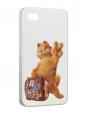 Чехол iPhone 4/4S, Гарфилд