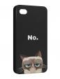 Чехол iPhone 4/4S, Кот Grumpy cat