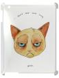 Чехол для iPad 2/3, Кот Grumpy cat