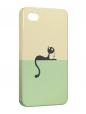 Чехол iPhone 4/4S, киска