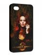 Чехол iPhone 4/4S, Голодные Игры Hunger Games Katniss