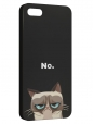 Чехол для iPhone 5/5S, Кот Grumpy cat