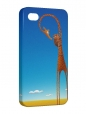 Чехол iPhone 4/4S, жирафик