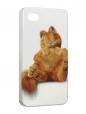 Чехол iPhone 4/4S, Гарфилд.