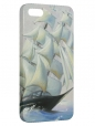 Чехол для iPhone 5/5S, парусник