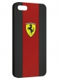 Чехол для iPhone 5/5S, carbon ferrari