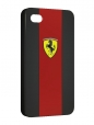 Чехол iPhone 4/4S, carbon ferrari