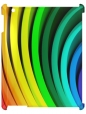 Чехол для iPad 2/3, радуга