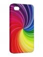 Чехол iPhone 4/4S, радуга