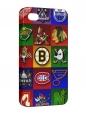 Чехол iPhone 4/4S, Хоккейные клубы 2.