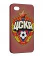 Чехол iPhone 4/4S, ЦСКА