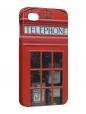 Чехол iPhone 4/4S, Телефонная будка