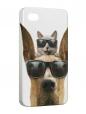 Чехол iPhone 4/4S, Мармадюк.