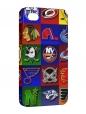 Чехол iPhone 4/4S, Хоккейные клубы.