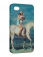 Чехол iPhone 4/4S, На коне.