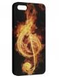 Чехол для iPhone 5/5S, Fire