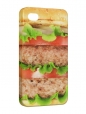 Чехол iPhone 4/4S, Гамбургер