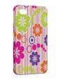 Чехол iPhone 4/4S, Цветочки.