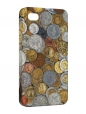 Чехол iPhone 4/4S, Монеты