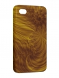 Чехол iPhone 4/4S, Золотые завитки