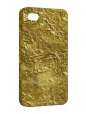 Чехол iPhone 4/4S, Золото Фольга
