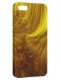 Чехол для iPhone 5/5S, Золотые завитки