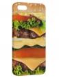 Чехол для iPhone 5/5S, Гамбургер