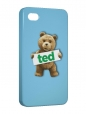 Чехол iPhone 4/4S, Ted.