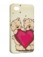 Чехол iPhone 4/4S, Мишки.