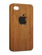 Чехол iPhone 4/4S, Деревянный чехол