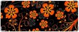 Кошелек, Оранжевые цветы