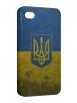Чехол iPhone 4/4S, Флаг Украины