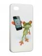 Чехол iPhone 4/4S, Frogg