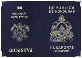 Обложка на паспорт, USA - Honduras