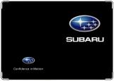 Обложка на автодокументы с уголками, Subaru : Confidence in Motion