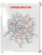 Чехол для iPad 2/3, карта метро
