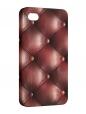 Чехол iPhone 4/4S, обивка