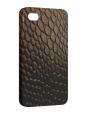 Чехол iPhone 4/4S, змеиная кожа