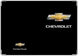 Обложка на автодокументы с уголками, CHEVROLET