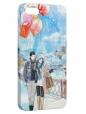 Чехол для iPhone 5/5S, Зимняя прогулка
