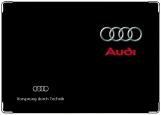 Обложка на автодокументы с уголками, Audi2