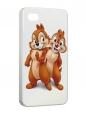 Чехол iPhone 4/4S, чип и дэйл