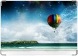 Обложка на паспорт с уголками, Воздушный шар