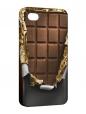 Чехол iPhone 4/4S, Плитка шоколада