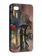 Чехол iPhone 4/4S, Дождливый Лондон