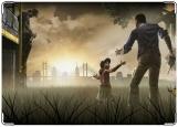 Обложка на паспорт с уголками, The Walking Dead