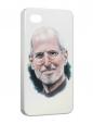 Чехол iPhone 4/4S, Steve Jobs.