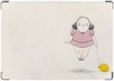 Обложка на паспорт с уголками, soft chubby girl